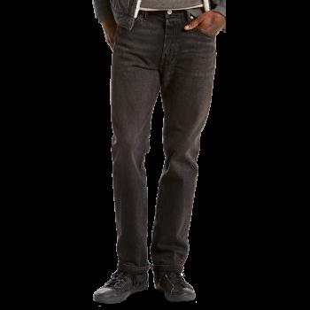 Levi's 501 Jeans Straight, délavé noir, Delancey, devant