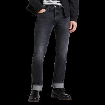 Levi's 501 Jeans MLK Warp dunkelgrau Frontansicht