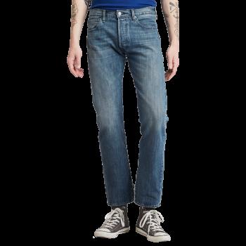 Levi's 501 Jeans Straight, bleu moyen, T.B., devant