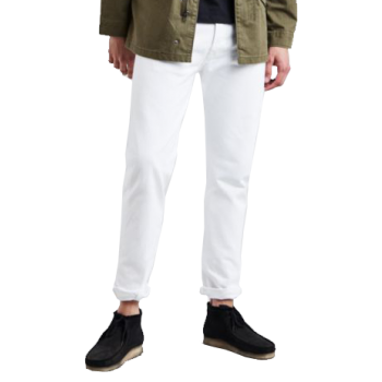 Levi's 501 Jeans, blanc, Optic White, devant