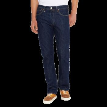Levi's 501 Jeans Straight, dunkelblau, Onewash, Frontansicht