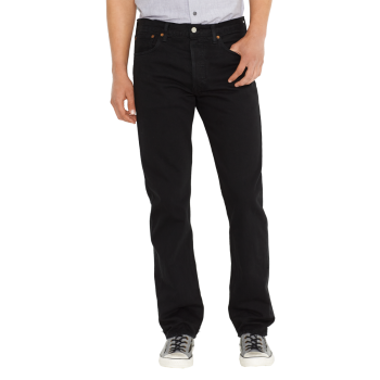 Levi's 501 Jeans noir, devant