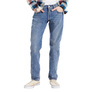 Levi's 501 Jeans, hellblau, Crosby, Frontansicht
