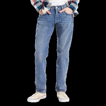 Levi's 501 Jeans, bleu clair, Crosby, devant