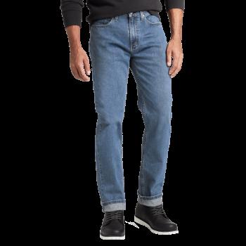 Levi's 514 Jeans Straight, mittelblau, Stonewash Stretch, Frontansicht