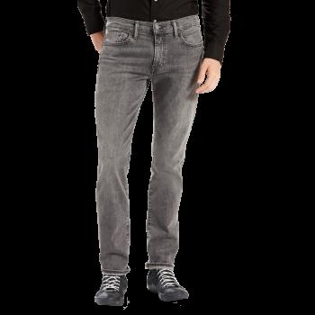 Levi's 511 Jeans Slim, gris délavé, Berry Hill, devant