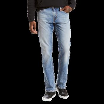 Levi's 527 Jeans Bootcut, délavé bleu pâle, Figure Four, devant