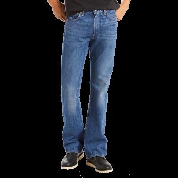 Levi's 527 Jeans Bootcut, mittelblau verwaschen, Mid City, Frontansicht