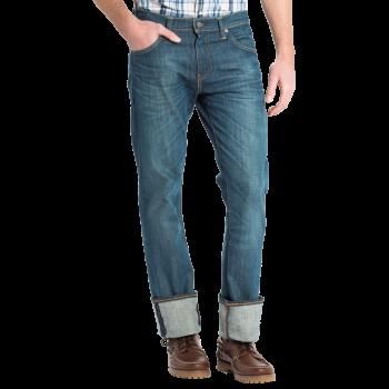 Levi's 527 Jeans Bootcut, délavé bleu / vert, Explorer, devant