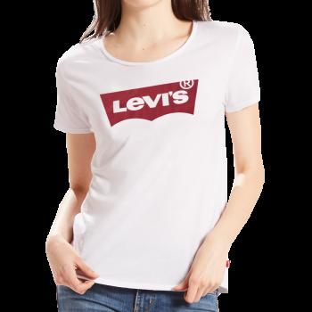 Levi's Batwing T-Shirt, weiss, Frontansicht