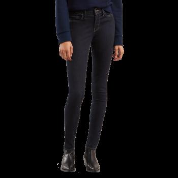 Levi's 710 Jeans Super Skinny, bleu foncé, Celestial Rinse, devant