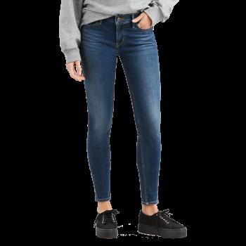 Levi's 710 Jeans Super Skinny, bleu moyen, Prestige Indigo, devant