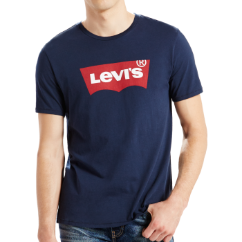 Levis-Shirt-Chalky-Weiss-S/S-Batwing-Front