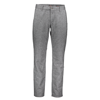 Alberto Lou Chino regular slim, gris clair, Wool Look Winter Grey, devant
