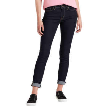 Levi's 711 Jeans Skinny, bleu foncé, To the Nine, devant