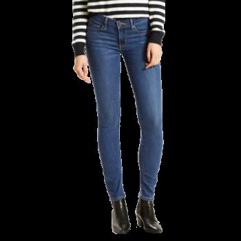 Levi's 711 Jeans skinny, delavé bleu moyen, Escape Artist, devant