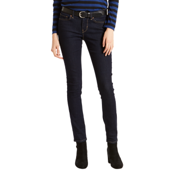 Levi's 711 Jeans Skinny, dunkelblau, Lone Wolf, Frontansicht