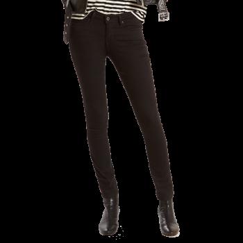 Levi's 711 Jeans Skinny, noir, Black Sheep, devant