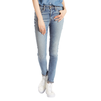 Levi's 721 Jeans High Rise Skinny, hellblau verwaschen, Meant To Be, Frontansicht