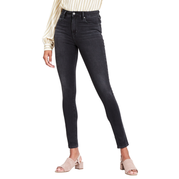 Levi's 721 Jeans High Rise Skinny, dunkelgrau, Shady Acres, Frontansicht