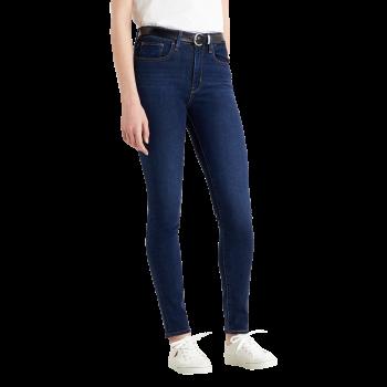 Levi's 721 Jeans High Rise Skinny, dunkelblau, Bogota Feels, Frontansicht