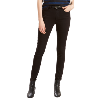 Levi's 721 Jeans High Rise Skinny, noir, Black Sheep, devant