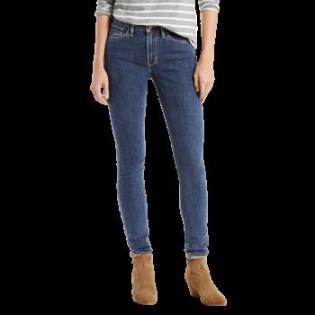 Levi's 721 Jeans High Rise Skinny, mittelblau, Cliff Hanger, Frontansicht