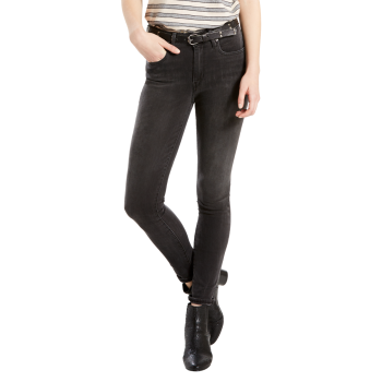 Levi's 721 Jeans High Rise Skinny, grau, Fast Times, Frontansicht