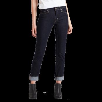 Levi's 712 Jeans Slim, bleu foncé, To the Nine, devant