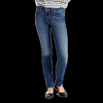 Levi's 712 Jeans Slim, mittelblau verwaschen, Indigo Daydream, Frontansicht