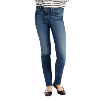 Levi's 712 Jeans Slim, bleu moyen délavé, Indigo Daydream, devant