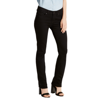 Levi's 712 Jeans Slim, noir, Black Sheep, devant