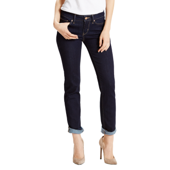 Levi's 712 Jeans Slim, dunkelblau, Lone Wolf, Frontansicht