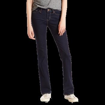 Levi's 715 Jeans Bootcut, bleu foncé, Lone Wolf, devant