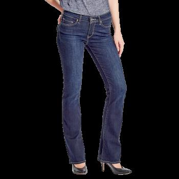 Levi's 715 Jeans Bootcut, bleu foncé delavé, Daytrip, devant