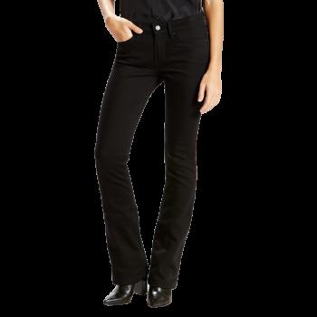 Levi's 715 Jeans Bootcut, noir, Black Sheep, devant