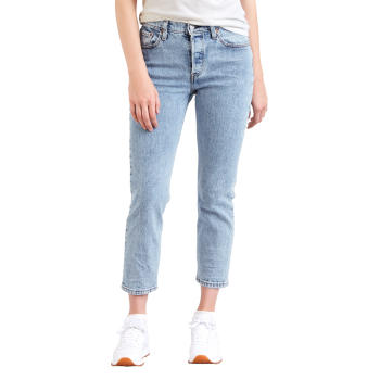 Levi's 501® Crop Jeans, hellblau, Lovefool, Frontansicht