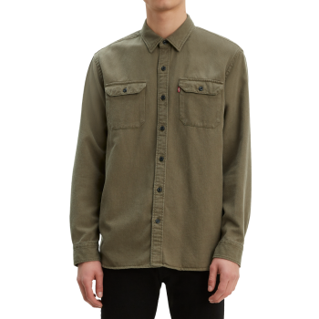 Levi's Jackson Worker Shirt, Olive, Frontansicht