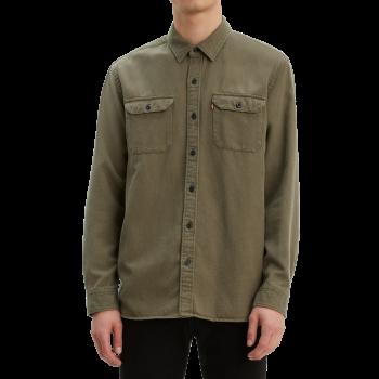 Levi's Jackson Worker Shirt, Olive, devant