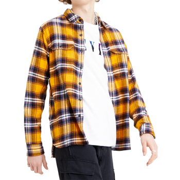 Levi's Jackson Worker Shirt, Andrusia Golden Yellow, Frontansicht