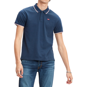 Levi's Batwing Polo, Dress Blues, bleu foncé, devant