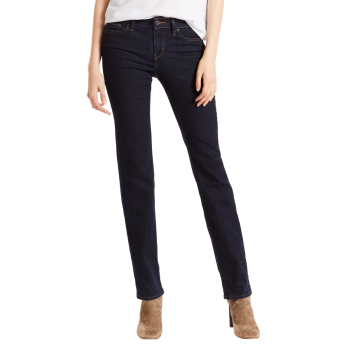 Levi's 714 Jeans Straight, dunkelblau, Lone Wolf, Frontansicht