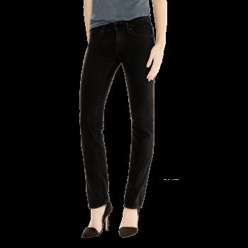 Levi's 714 Jeans Straight, schwarz, Black Sheep, Frontansicht