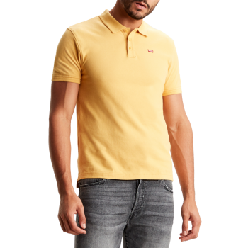Levi's Housemark Polo, Golden Apricot, jaune, devant