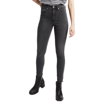 Levi's Mile High Super Skinny Jeans, grau, Smoke Show, Frontansicht