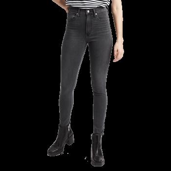 Levi's Mile High Super Skinny Jeans, gris, Smoke Show, devant