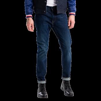 Levi's 512 Jeans Slim Taper, mittelblau verwaschen, Rain Shower, Frontansicht