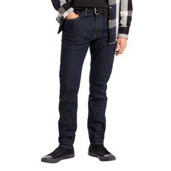 Levi's 512 Jeans Slim Taper, dunkelblau, Rock Cod, Frontansicht