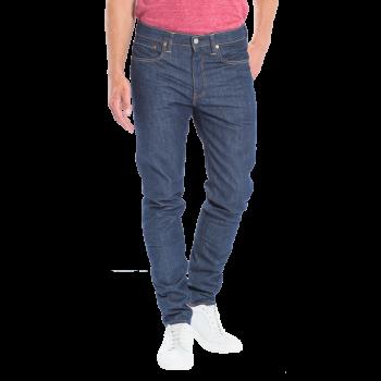 Levi's 512 Jeans, dunkelblau unverwaschen,   Broken Raw, Frontansicht