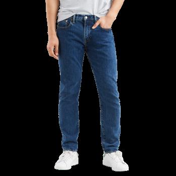 Levi's 502 Jeans regular tapered, mittelblau, Stonewash, Frontansicht
